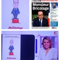"""Quand l'enseigne """"Mr Bricolage"""" se moque de F. Hollande dans sa pub..."""