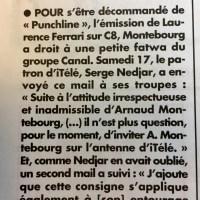 """Fatwa (médiatique): Arnaud #Montebourg fiché """"S"""" par @itele /Groupe Canal+ ..."""