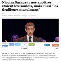 """""""Nos ancêtres les tirailleurs #Musulmans"""": Sarkozy en a trouvé d'autres, après les ..."""