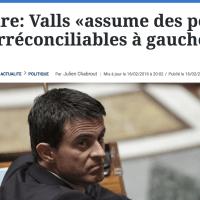 [Billet participatif]: « Qu'est-ce qui nous sépare de M.#Valls?»  Vos réponses, là ...