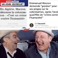 Et #Macron inventa la «#Déchéance de #crime contre l'humanité! La #colonisation? fini! ...