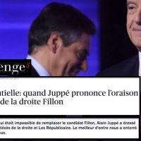 Quand «le meilleur d'entre nous» Juppé enterre «le pire d'entre eux» #Fillon. Ou l'inverse...