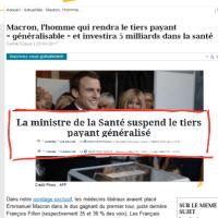 """#Macron-des-bois: Prendre aux """"rien"""" pour donner à """"ceux qui réussissent, New Legend .."""