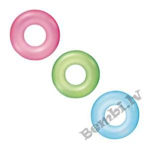 "Bestway - ϕ36""/ϕ91cm Frosted Neon Swim Ring"