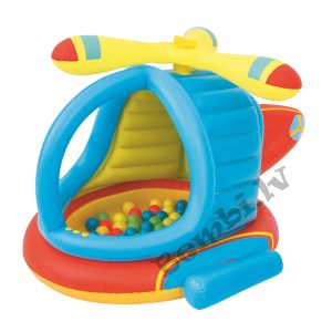"""Up, In & Over - 55"""" x 50"""" x 35""""/1.40m x 1.27m x 89cm Helicopter Ball Pit"""