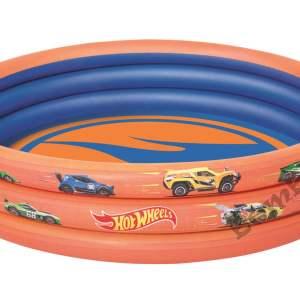 "Hot Wheels - ϕ48"" x H10""/ϕ1.22m x H25cm 3-Ring Pool"