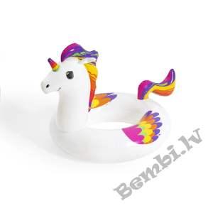 "Bestway  47"" x 36""/119cm x 91cm Fantasy Unicorn Peldriņķis"