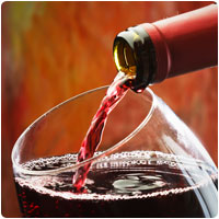 red wine fights cancer