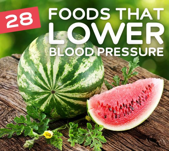28 Foods That Lower Blood Pressure