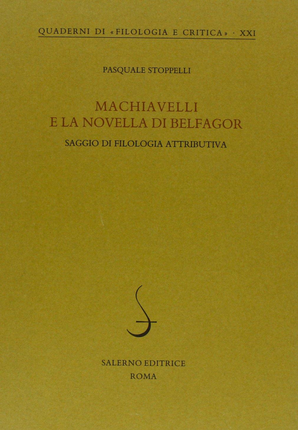 Machiavelli e la novella di Belfagor