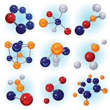 Fórmulas químicas de substâncias moleculares