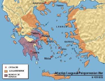 Atenas e o espaço mediterrâneo