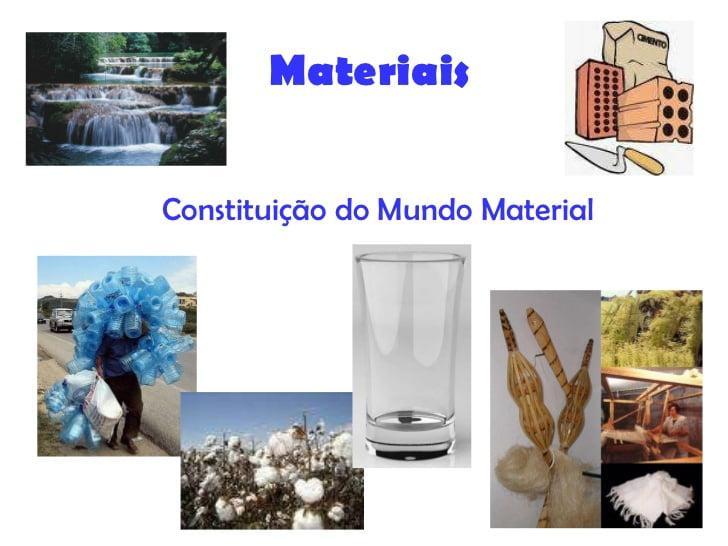 Ficha Informativa – Constituição do mundo material