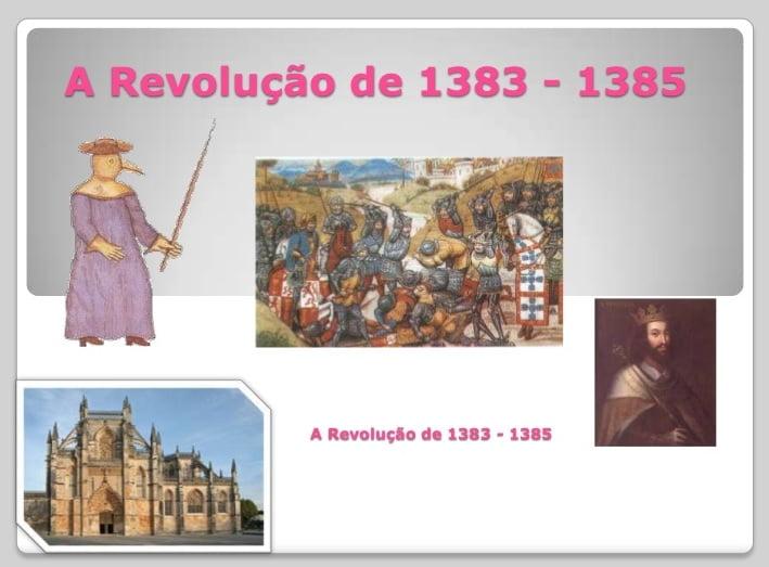 Ficha de Trabalho – A revolução de 1383 – 1385 (1)