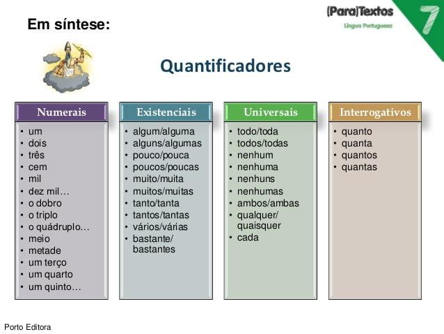 O Quantificador
