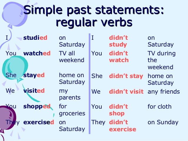 Ficha de Trabalho – Past simple of regular verbs (2)