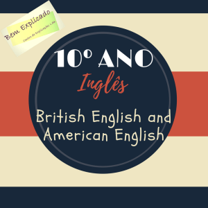 British English and American English