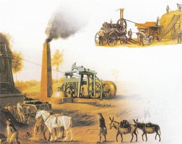 Teste Diagnóstico – A revolução agrícola e o arranque da revolução industrial (1) – Soluções