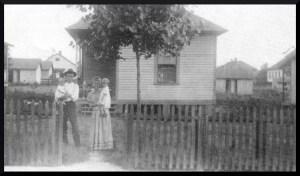 Early shot gun house