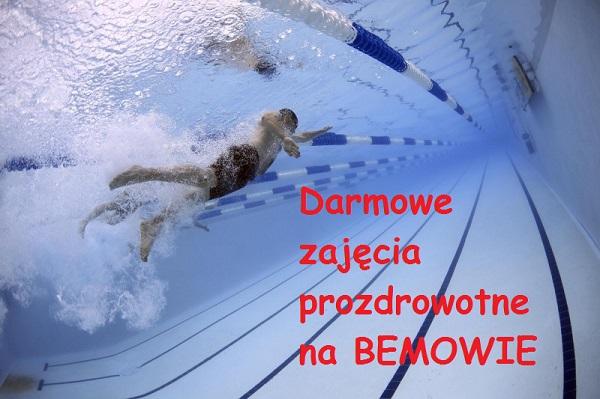 Darmowe zajęcia prozdrowotne na Bemowie 2018r.
