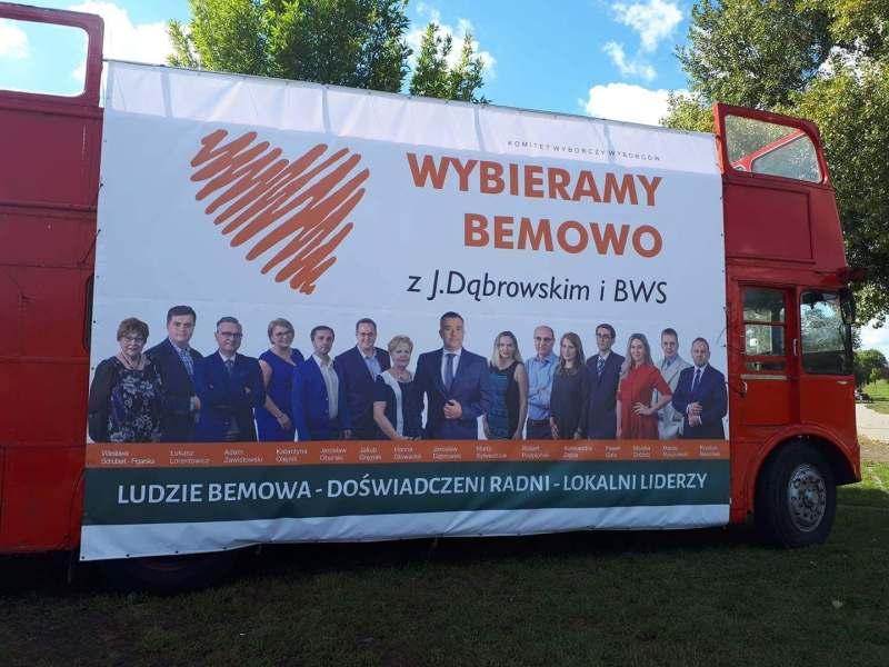 Autobus Wybieramy Bemowo