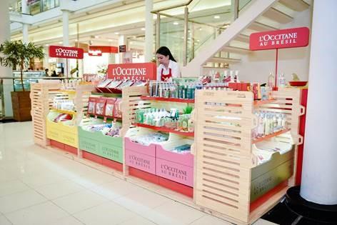 L'Occitane Au Brésil expande e chega ao Shopping Curitiba