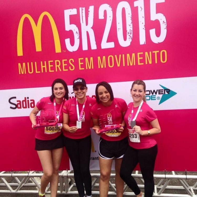Corrida M5K estimula mulheres a praticarem exercícios