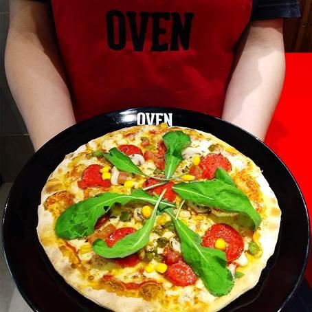 V3 Comunicação agora com Oven Pizza Customizada