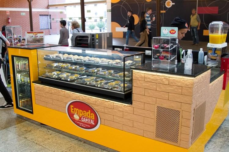 Franquia deempadasinaugura quiosque no Shopping Estação