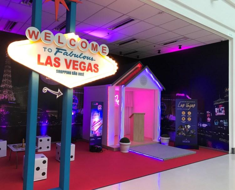 Shopping São José recria Las Vegas para o Dia dos Namorados
