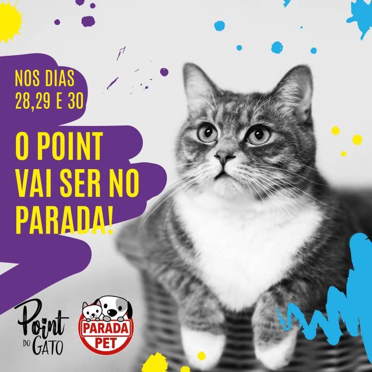 Primeiro cat café do sul do Brasil estará na parada Pet 2019