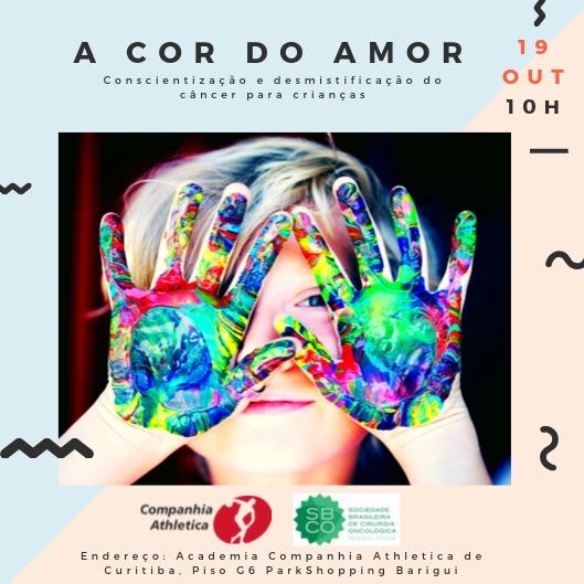 """SBCO-PR e Companhia Athletica juntas na ação """"A cor do Amor"""""""