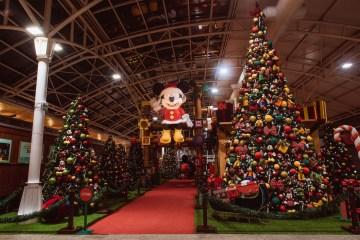 Shopping Estação tem atividades de Natal inspiradas no universo mágico da Disney