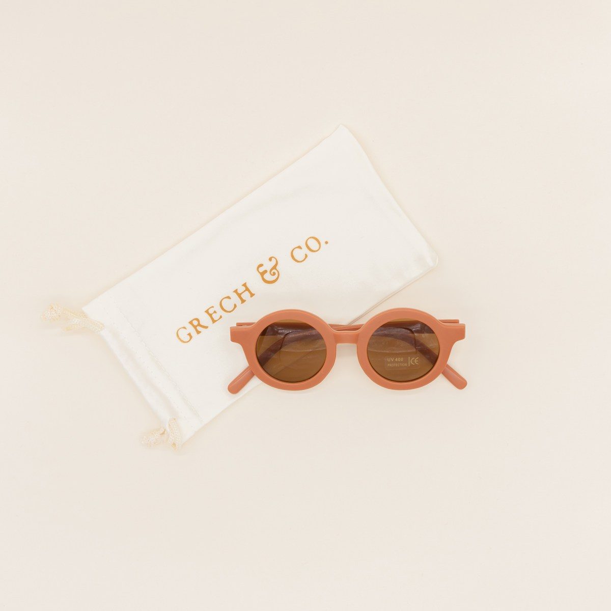 Gafas sol niños sostenible Grech & Co Rust