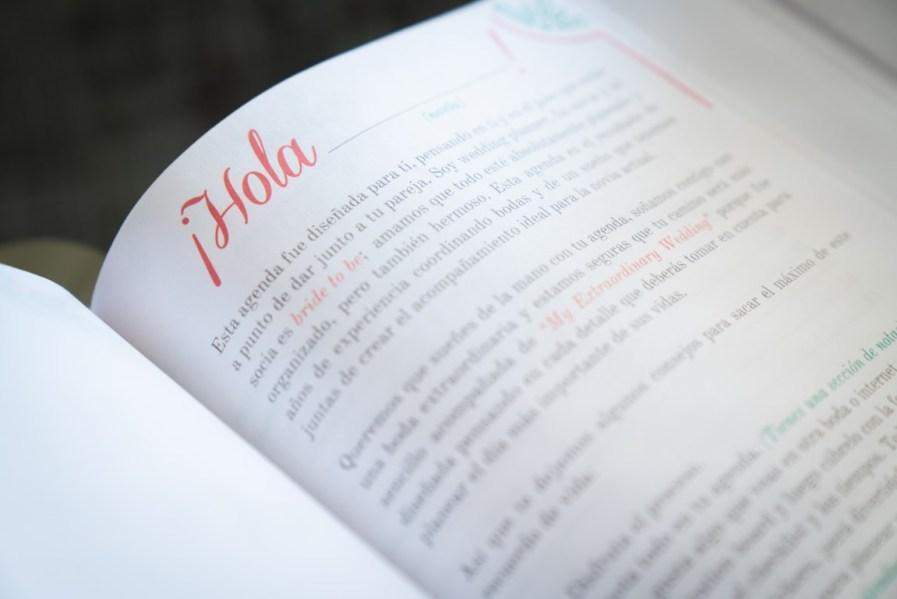 Novia Agenda Bride to be Bride Wedding Bridal planner Dear bride to be Boda