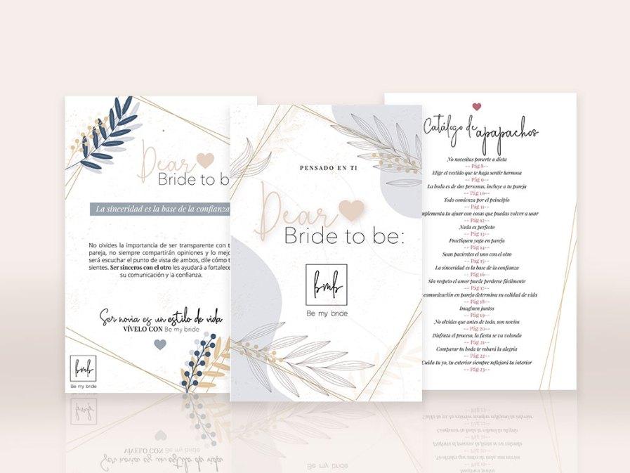 agenda para novias be my bride, Dear bride to be, un libro para la novia actual