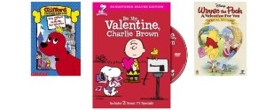 Valentine DVD's for kids make great gifts for Valentine's Day
