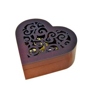 Wooden Heart Music Box