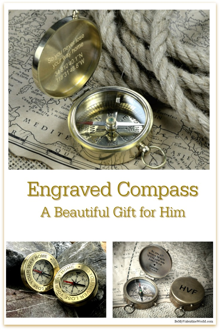 Engraved Compasses
