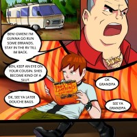 Ben Ten pornography comics  - While Maxx is out