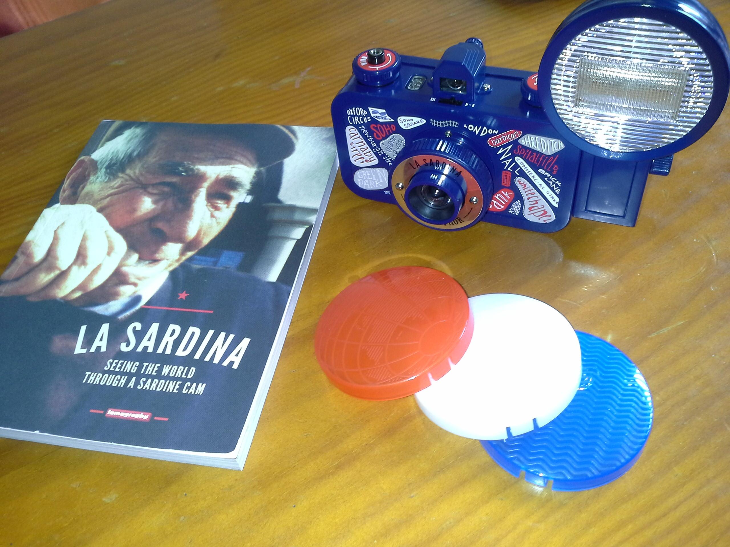 Lomography La Sardina y disfruta de la fotografia