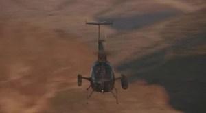 Helicópteros en el cine  Pájaros de fuego