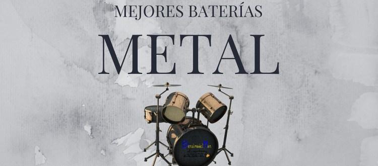 Mejores baterías metal