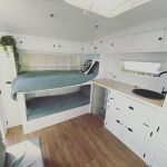 Caravan Bunk Beds Caravan Renovation Series Ben Michelle