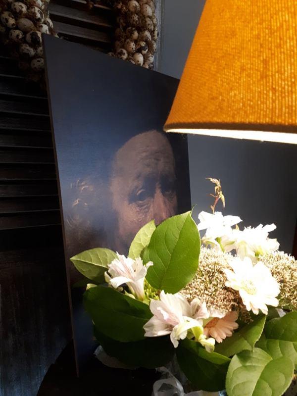 Canvaspaneel Rembrandt