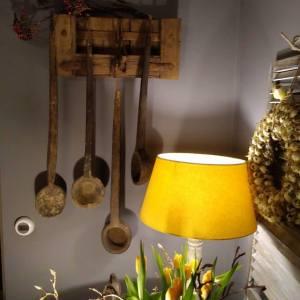 Oude houten lepels india