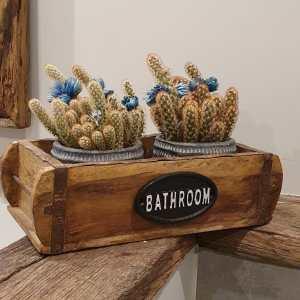 bathroom op steenmal bij Benard's Woonaccessoires