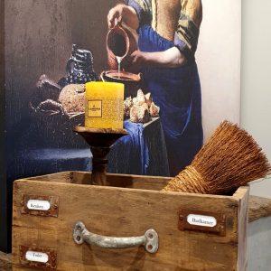 Houten lade met handvat, een leuk en uniek item om je interieur mee te stylen