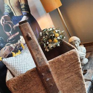 Rijstbak met handvat - mooi als lectuurbak