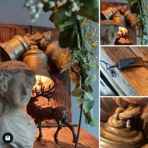 Klokken met verlichting, gemaakt bij Benard's Woonaccessoires